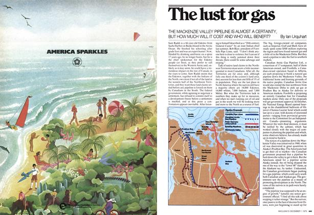 Article Preview: The lust for gas, December 1975 | Maclean's