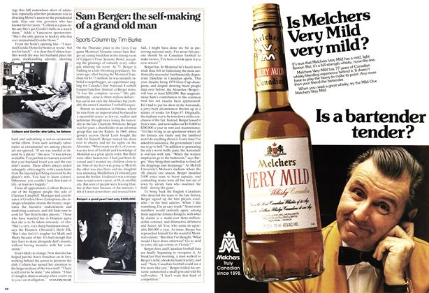 Article Preview: Sam Berger: the self-making of a grand old man, December 1975 | Maclean's