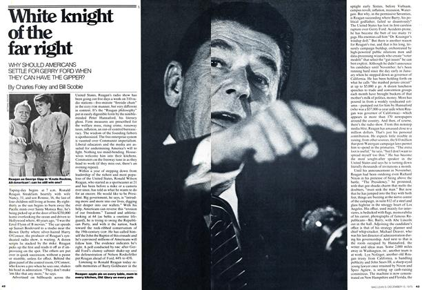 Article Preview: White knight of the far right, December 1975 | Maclean's