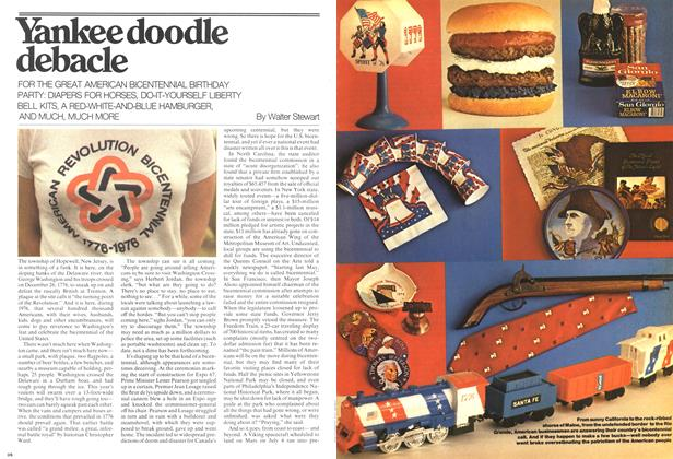 Article Preview: Yankee doodle debacle, January 1976 | Maclean's