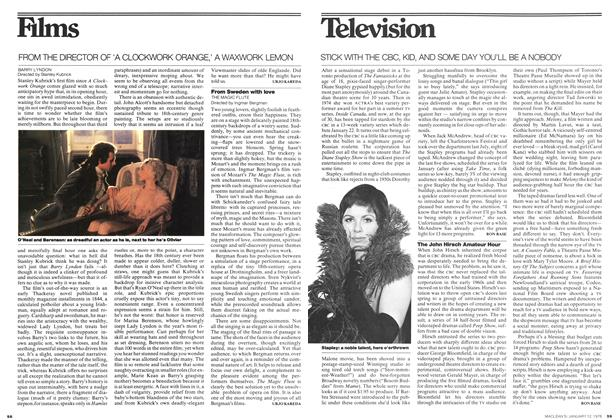 Article Preview: Television, January 1976 | Maclean's