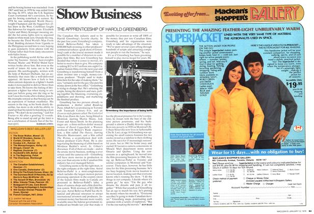 Article Preview: Show Business, January 1976 | Maclean's