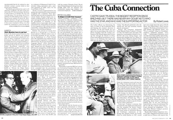 Article Preview: The Cuba Connection, February 1976 | Maclean's