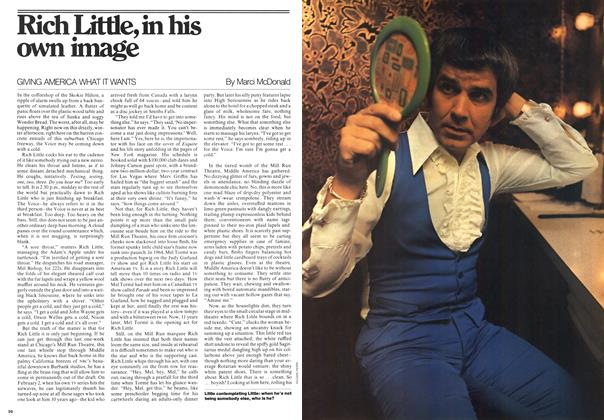 Article Preview: Rich Little, in his own image, February 1976 | Maclean's
