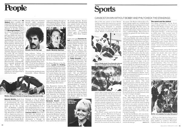 Article Preview: Sports, February 1976 | Maclean's