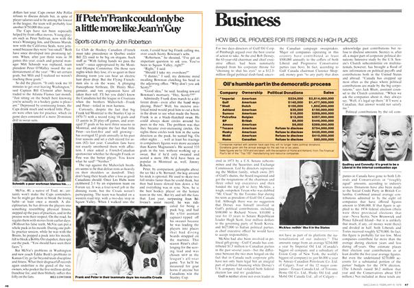 Article Preview: If Pete'n'Frank could only be a little more like Jean'n'Guy, February 1976 | Maclean's