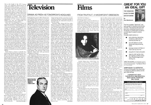 Article Preview: Television, February 1976 | Maclean's