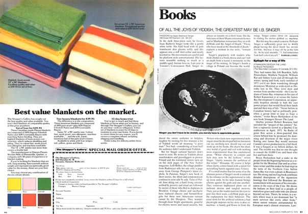 Article Preview: Books, February 1976 | Maclean's