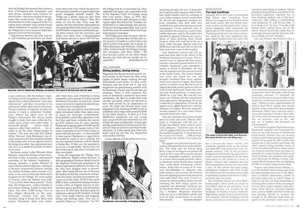 Article Preview: Doing justice, loving mercy, February 1976 | Maclean's