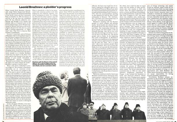 Article Preview: Leonid Brezhnev: a plodder's progress, February 1976 | Maclean's