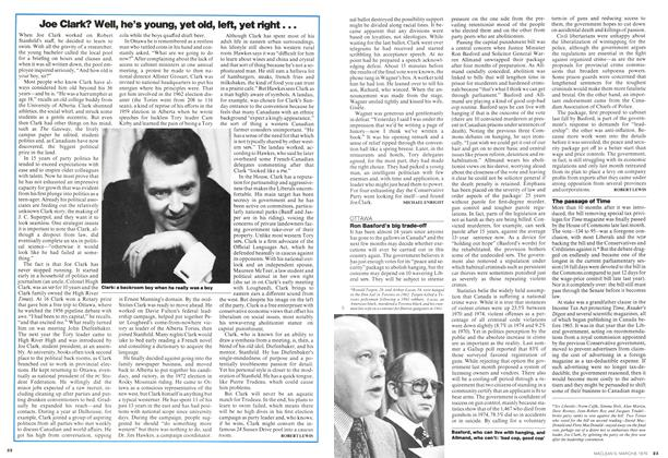 Article Preview: Joe Clark? Well, he's young, yet old, left, yet right..., March 1976 | Maclean's