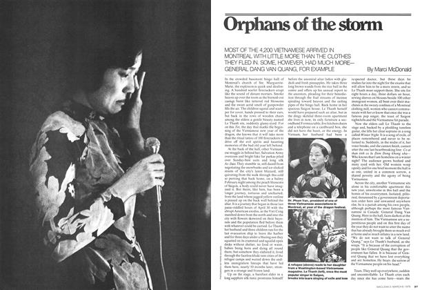 Article Preview: Orphans of the storm, March 1976 | Maclean's