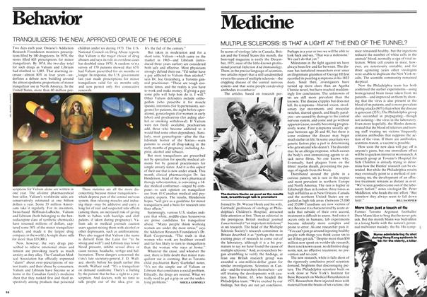Article Preview: TRANQUILIZERS: THE NEW, APPROVED OPIATE OF THE PEOPLE, March 1976 | Maclean's