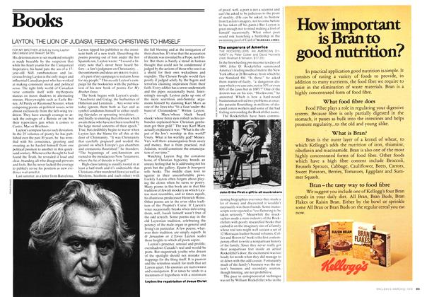 Article Preview: LAYTON, THE LION OF JUDAISM, FEEDING CHRISTIANS TO HIMSELF, March 1976 | Maclean's