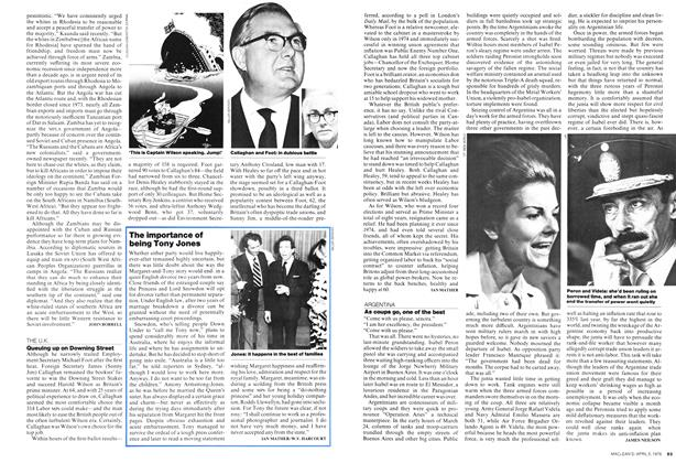 Article Preview: As coups go, one of the best, April 1976 | Maclean's