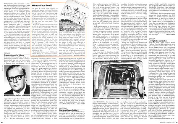 Article Preview: Losing in the translation, April 1976 | Maclean's