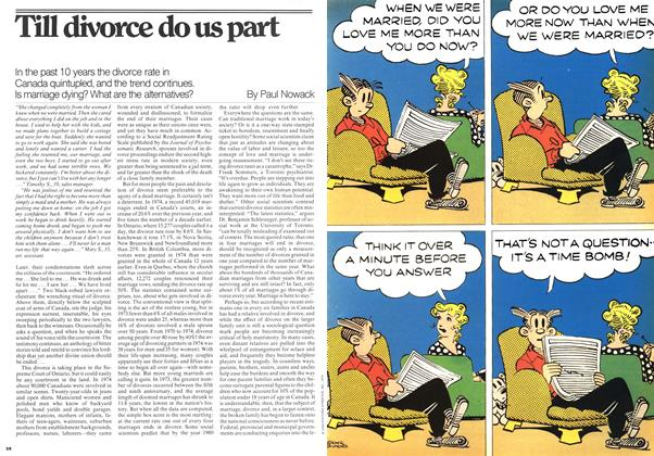 Article Preview: Till divorce do us part, April 1976 | Maclean's