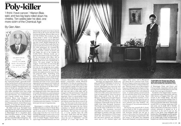 Article Preview: Poly-killer, April 1976 | Maclean's