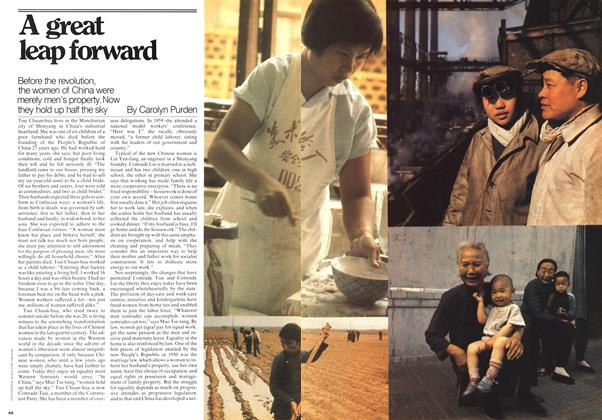 Article Preview: Agreat leap forward, April 1976 | Maclean's