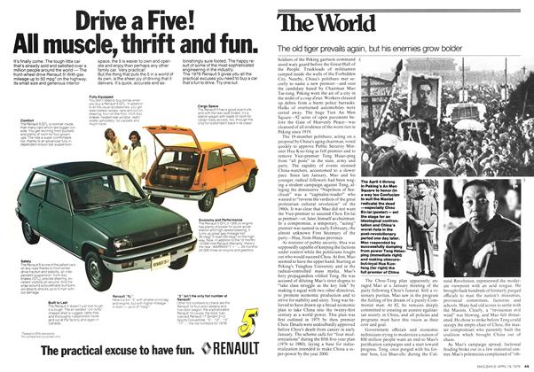 Article Preview: The World, April 1976 | Maclean's