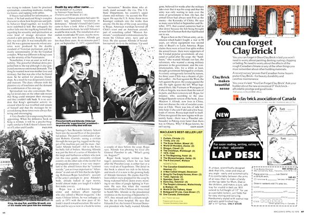 Article Preview: Death by any other name..., April 1976 | Maclean's