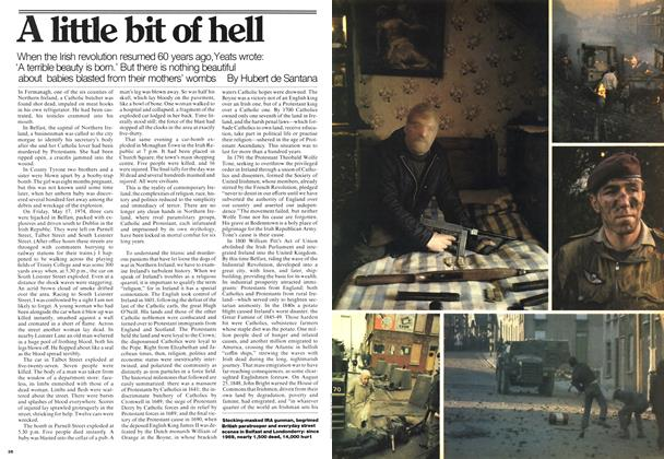 Article Preview: A little bit of hell, May 1976 | Maclean's