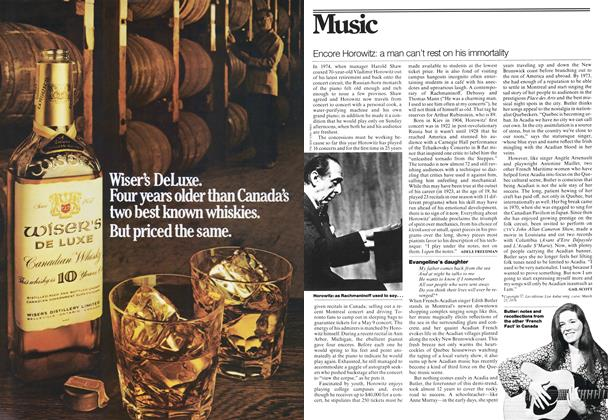 Article Preview: Encore Horowitz: a man can't rest on his immortality, May 1976 | Maclean's