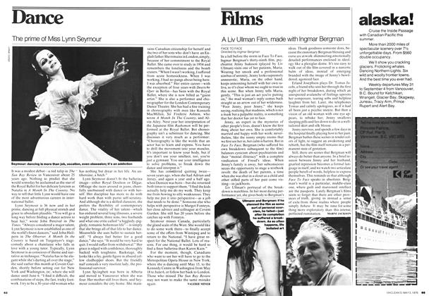 Article Preview: A Liv Ullman Film, made with Ingmar Bergman, May 1976 | Maclean's