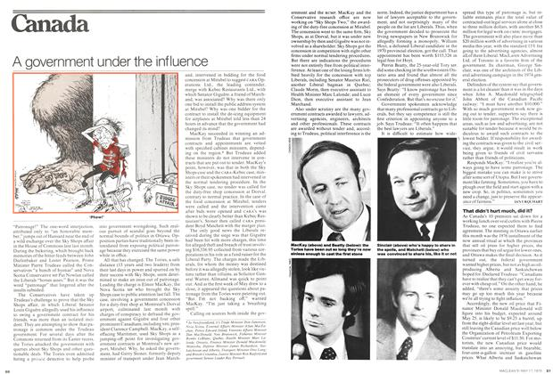 Article Preview: A government under the influence, May 1976 | Maclean's