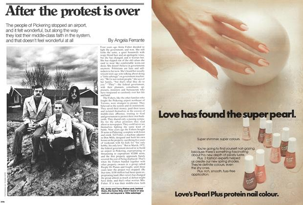 Article Preview: After the protest is over, May 1976 | Maclean's