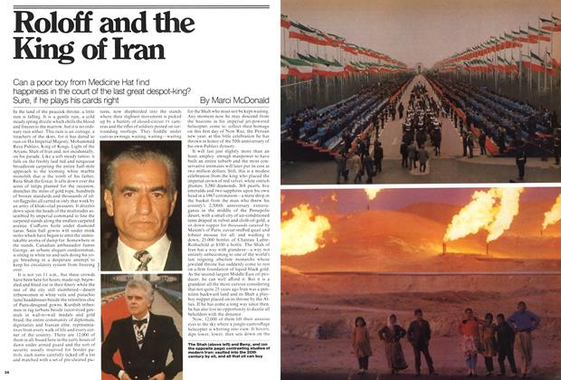 Article Preview: Roloff and the King of Iran, May 1976 | Maclean's