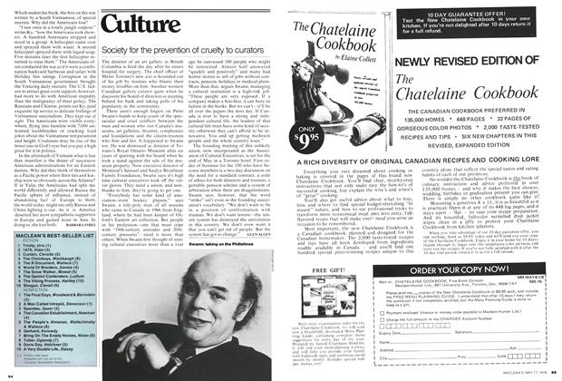 Article Preview: Society for the prevention of cruelty to curators, May 1976 | Maclean's