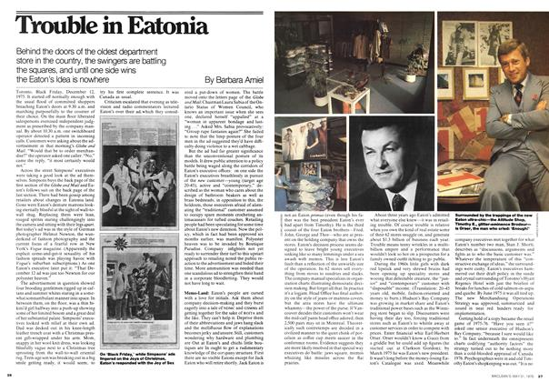 Article Preview: Trouble in Eatonia, May 1976 | Maclean's