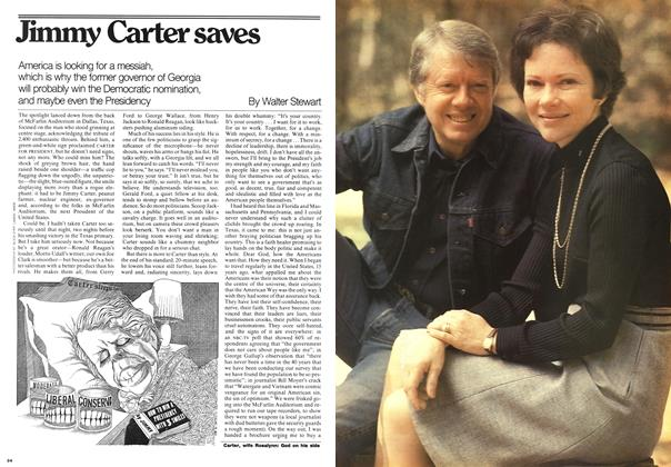 Article Preview: Jimmy Carter saves, May 1976 | Maclean's
