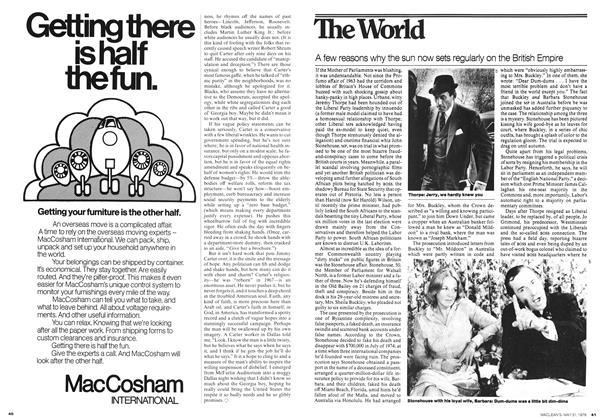 Article Preview: A few reasons why the sun now sets regularly on the British Empire, May 1976 | Maclean's