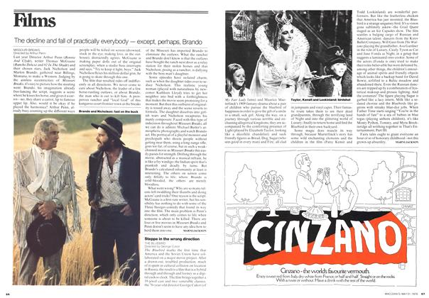 Article Preview: The decline and fall of practically everybody - except, perhaps, Brando, May 1976 | Maclean's