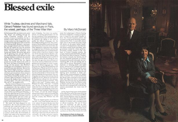 Article Preview: Blessed exile, June 1976 | Maclean's