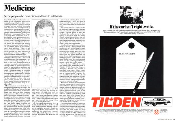 Article Preview: Some people who have died—and lived to tell the tale, June 1976 | Maclean's