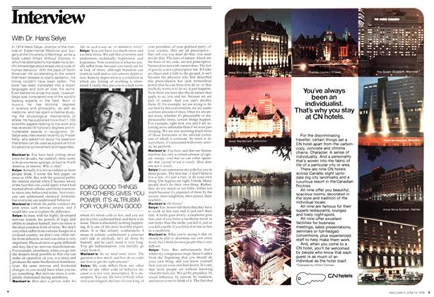 Article Preview: Interview, June 1976 | Maclean's