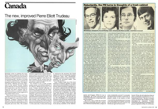 Article Preview: Reluctantly, the PM turns to thoughts of a fresh cabinet, June 1976 | Maclean's