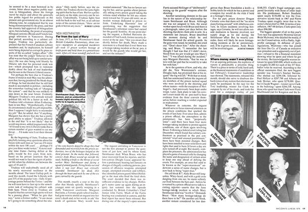 Article Preview: Where money wasn't everything, June 1976 | Maclean's