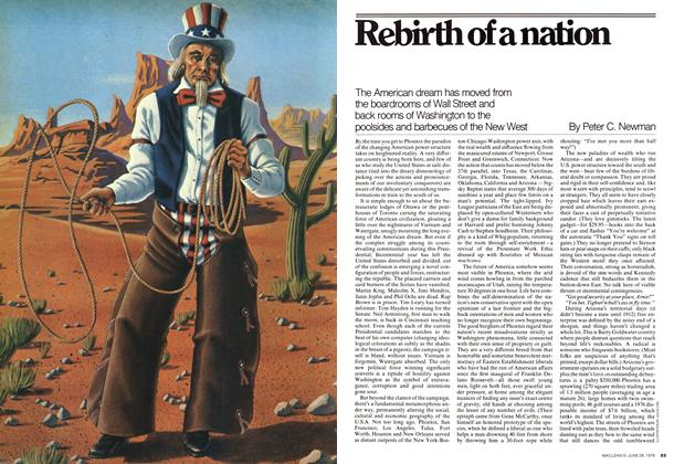 Article Preview: Rebirth of a nation, June 1976 | Maclean's