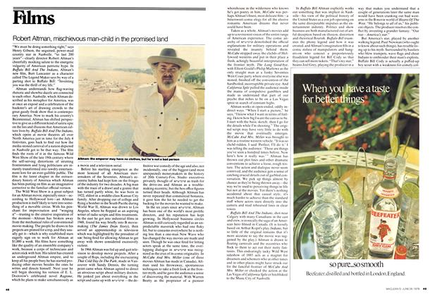 Article Preview: Robert Altman, mischievous man-child in the promised land, June 1976 | Maclean's