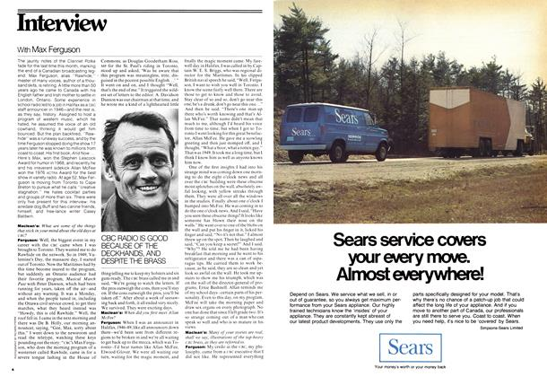 Article Preview: With Max Ferguson, June 1976 | Maclean's
