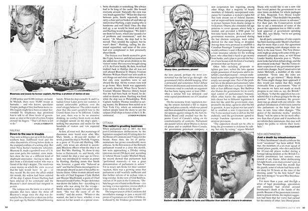 Article Preview: The nation's grueling business, July 1976 | Maclean's