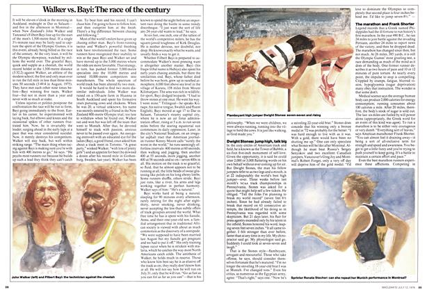 Article Preview: Walker vs. Bayi: The race of the century, July 1976 | Maclean's