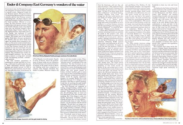 Article Preview: Ender & Company: East Germany's wonders of the water, July 1976 | Maclean's