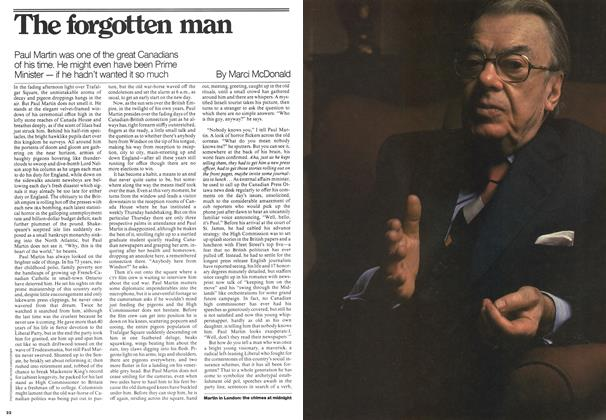 Article Preview: The forgotten man, August 1976 | Maclean's