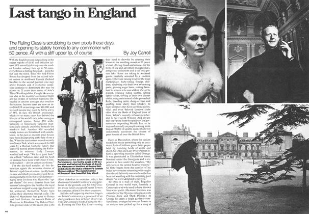 Article Preview: Last tango in England, August 1976 | Maclean's