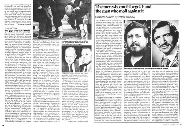 Article Preview: The men who moil for gold-and the men who moil against it, August 1976 | Maclean's
